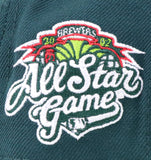 "MILWAUKEE BREWERS (MOUNTAIN DEW) ""2002 ASG"" NEW ERA 59FIFTY FITTED (RED BOTTOM)"