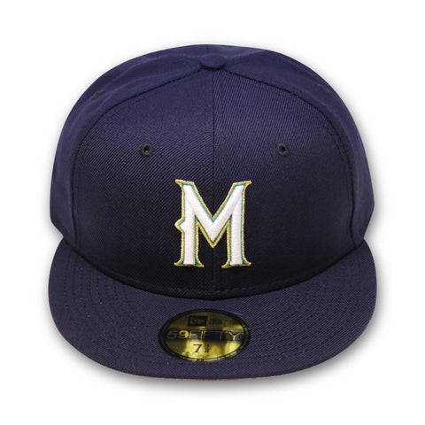 "MILWAUKEE BREWERS NEW ERA ""1998-1999 GAME"" NEW ERA 59FIFTY FITTED (NEW LOGO)"
