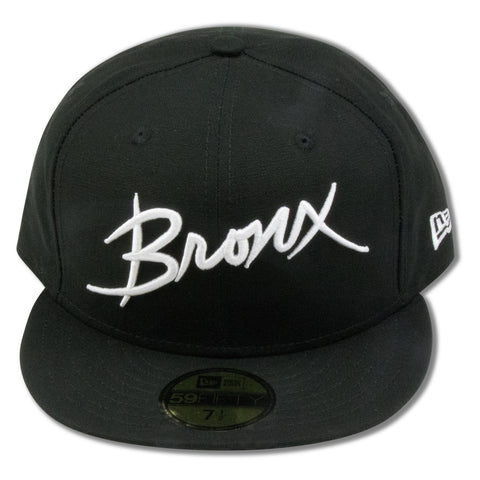 THE BRONX BLACK NEW ERA 59FIFTY FITTED