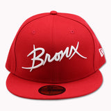 THE BRONX RED NEW ERA 59FIFTY FITTED