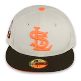 "ST LOUIS BROWNS ""1948 ASG"" NEW ERA 59FIFTY FITTED (NEON ORANGE BOTTOM)"