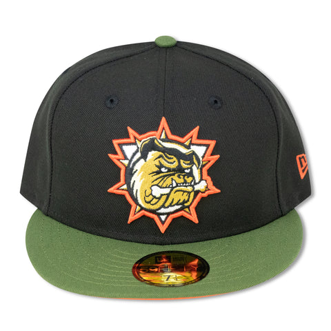 HAMILTON BULLDOGS NEW ERA 59FIFTY FITTED (ORANGE BOTTOM) (AIR JORDAN 6 TRAVIS SCOTT)