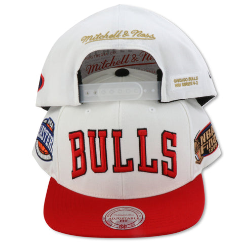 CHICAGO BULLS 1998 FINALS MITCHELL & NESS SNAPBACK (088VZ )
