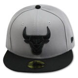 CHICAGO BULLS NEW ERA 59FIFTY FITTED (AIR JORDAN 10 RETRO CEMENT)