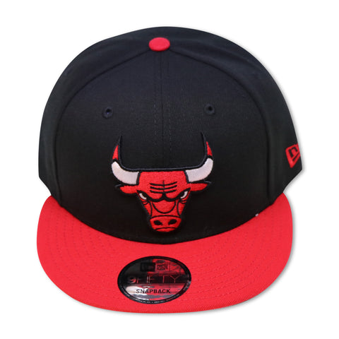 CHICAGO BULLS (BLACK/RED) NEW ERA 9FIFTY SNAPBACK