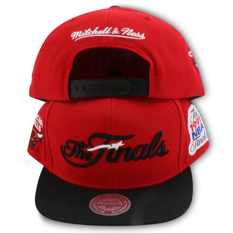 CHICAGO BULLS 1991 NBA FINALS MITCHELL & NESS SNAPBACK (VC31Z)