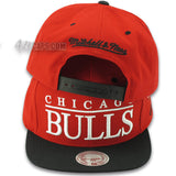 CHICAGO BULLS TOP SHELF SNAPBACK BY MITCHELL & NESS