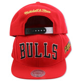 CHICAGO BULLS 1998 NBA FINALS MITCHELL & NESS SNAPBACK (NM14Z)