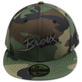 "THE BRONX ""4UCAPS EXCLUSIVE"" CAMO NEW ERA 59FIFTY FITTED"