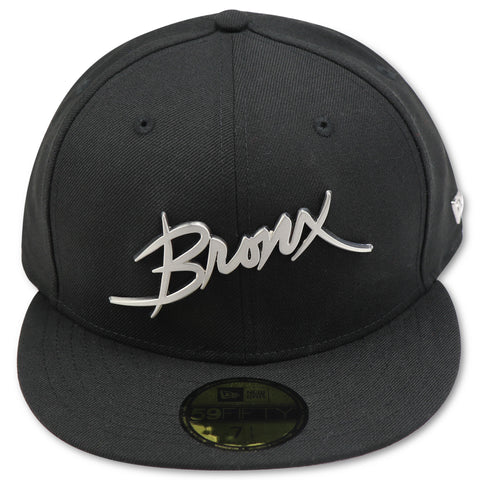"THE BRONX ""4UCAPS EXCLUSIVE"" BLACK NEW ERA 59FIFTY FITTED"