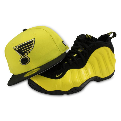 ST. LOUIS BLUES NEW ERA FITTED (YELLOW FOAMPOSITE)