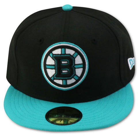 BOSTON BRUINS NEW ERA 59FIFTY FITTED (ISLAND FOAMS)