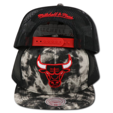 CHICAGO BULLS MITCHELL & NESS  ACID WASH FASHION SNAPBACK