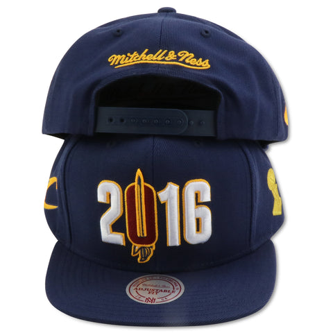 CLEVELAND CAVALIERS 2016 CHAMPS MITCHELL & NESS SNAPBACK