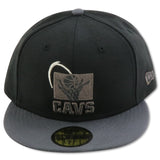 CLEVELAND CAVALIERS NEW ERA 59FIFTY FITTED