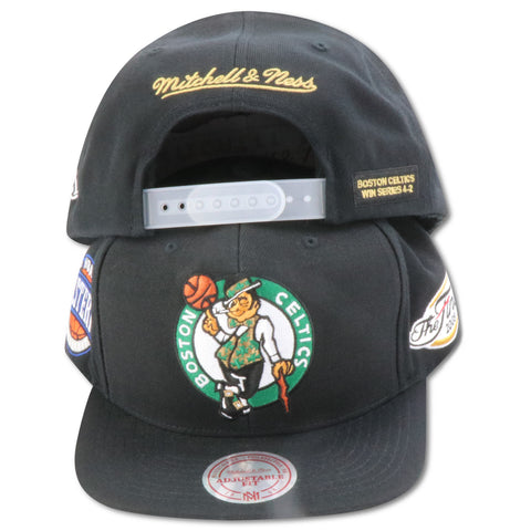 BOSTON CELTICS 2008 FINALS MITCHELL & NESS SNAPBACK (098VZ)