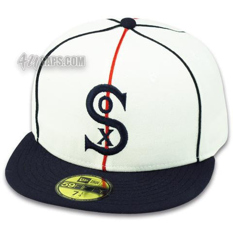 ef0396bed CHICAGO WHITE SOX NEW ERA 2001 FITTED GRAY UNDER BRIM – 4ucaps.com