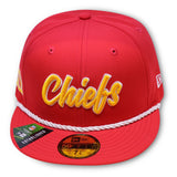 KANSAS CITY CHIEFS 1960 NEW ERA 59FIFTY ONFIELD FITTED