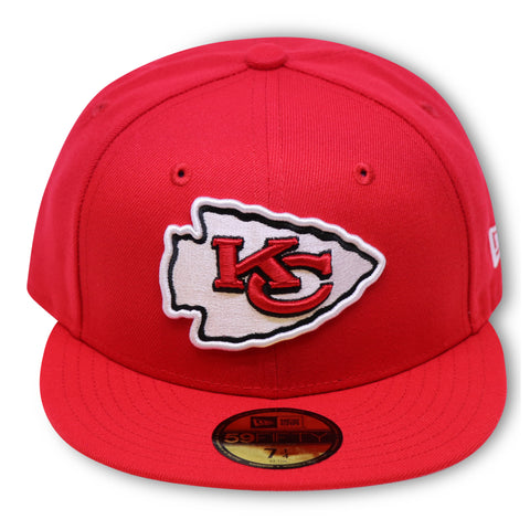 KANSAS CITY CHIEFS NEW ERA 59FIFTY FITTED