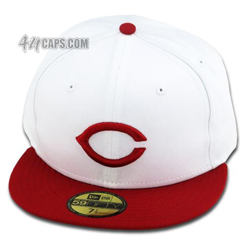 CINCINNATI REDS 1957 NEW ERA 59FIFTY FITTED