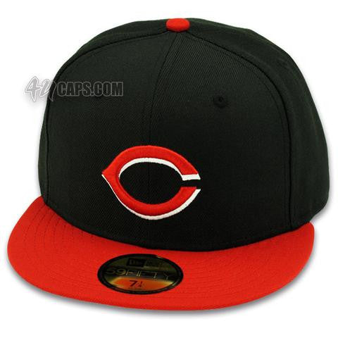 CINCINNATI REDS 2001-2006 GAME NEW ERA 59FIFTY FITTED