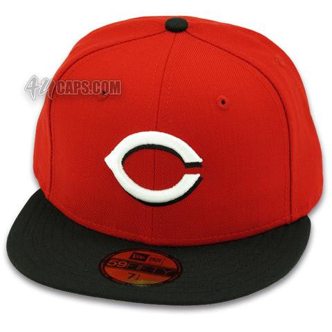 CINCINNATI REDS 2001-2006 HOME NEW ERA 59FIFTY FITTED