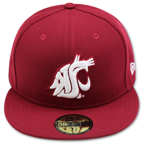 WASHINGTON STATE COUGARS NEW ERA 59FIFTY FITTED