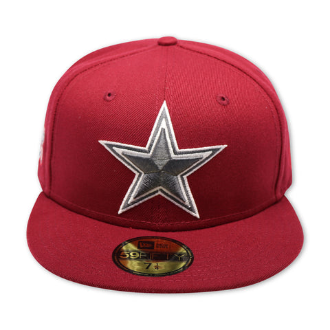 "DALLAS COWBOYS ""SUPERBOWL ""XXVII"" NEW ERA 59FIFTY FITTED (AIR JORDAN 6 RETRO CARMINE)"