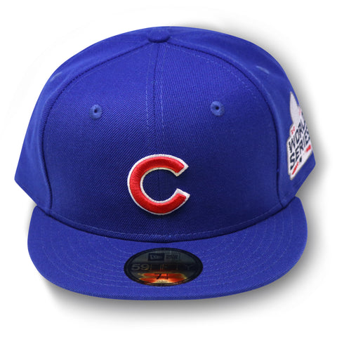 CHICAGO CUBS 2016 WORLD SERIES NEW ERA FITTED