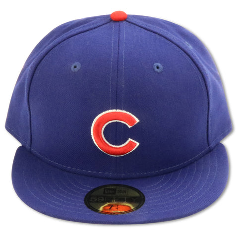 CHICAGO CUBS 1999-2006 HOME NEW ERA 59FIFTY FITTED (GREY BRIM)