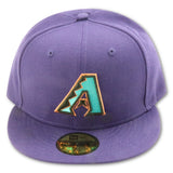 ARIZONA DIAMONDBACKS PURPLE NEW ERA 59FIFTY FITTED