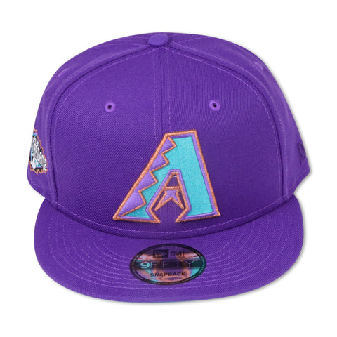 "ARIZONA DOIAMONDBACKS (PURPLE) ""2011 ALLSTARGAME"" NEW ERA 9FIFTY SNAPBACK (TEAL BOTTOM)"