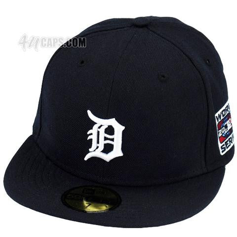DETROIT TIGERS 2006 WORLD SERIES NEW ERA 59FIFTY FITTED