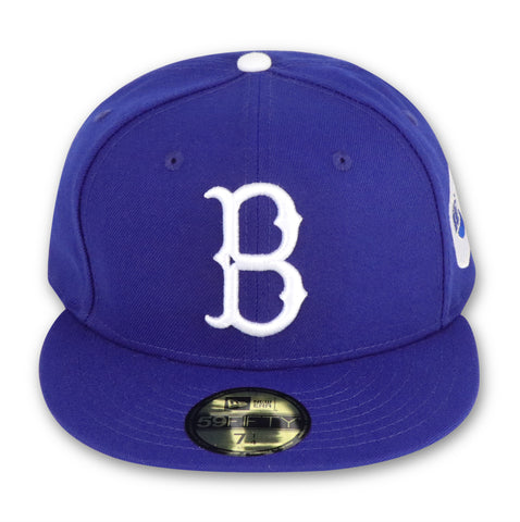 "BROOKLYN DODGERS  ""1955 WORLDSERIES"" NEW ERA 59FIFTY FITTED (GREEN BOTTOM)"
