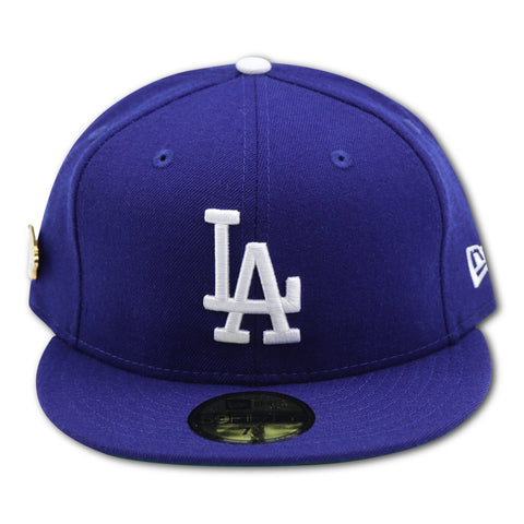 new style 39219 a1d63 LOS ANGELES DODGERS 1988 WORLD SERIES PIN NEW ERA 59FIFTY FITTED (GREEN  BRIM)