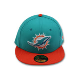MIAMI DOLPHINS NEW ERA 59FIFTY FITTED (AIR MAX 98 CONE)