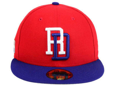 DOMINICAN REPUBLIC WORLD BASEBALL CLASSIC 2017 NEW ERA 59FIFTY FITTED