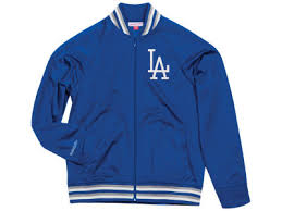 LOS ANGELES DODGERS MITCHELL & NESS TOP PROSPECT TRACK JACKET