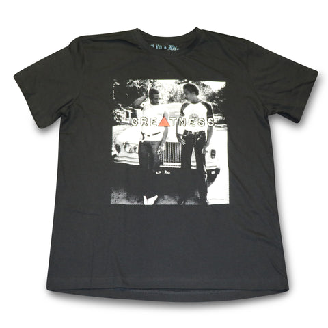 LIV HIE  EDDIE & RICHARD BLACK TEE