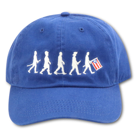 4U CUSTOM EVOLUTION OF PUERTO RICO ROYAL DAD HAT