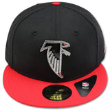 "ATLANTA FALCONS ""4UCAPS EXCLUSIVE"" NEW ERA 59FIFTY RHINESTONE FITTED"