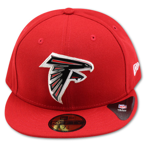 ATLANTA FALCONS NEW ERA 59FIFTY FITTED (METAL LOGO)