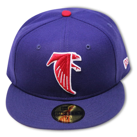 ATLANTA FALCON NEW ERA 59FIFTY FITTED (4TH OF JULY COLORS)