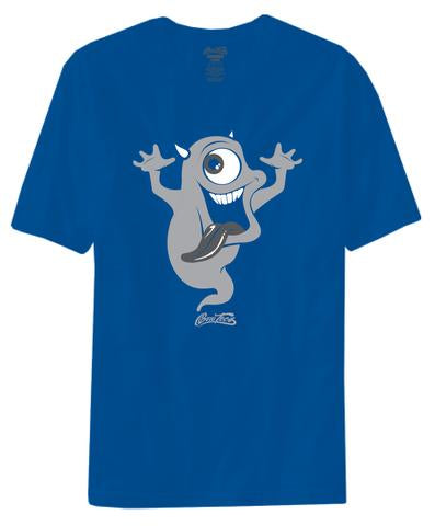 BORO TEES THE THE GHOST TEE (AIR JORDAN 5 RETRO BLUE SUEDE)