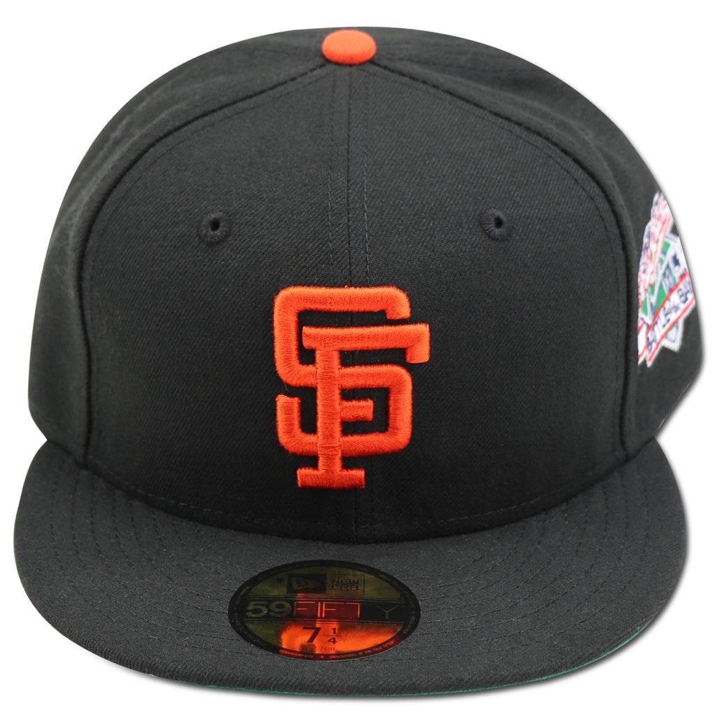 SAN FRANCISCO GIANTS 1989 WORLDSERIES (BATTLE OF THE BAY) NEW ERA 59FI –  4ucaps.com 44a9db59424
