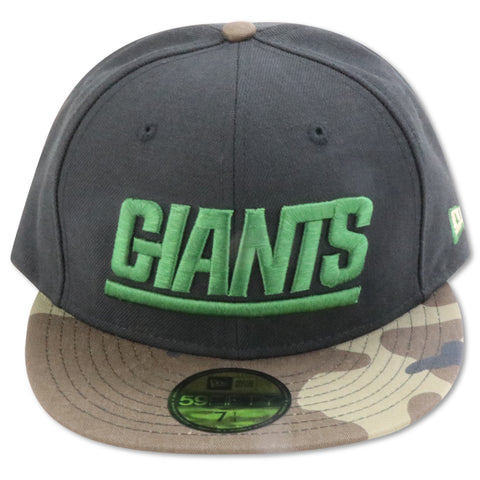 NEW YORK GIANTS NEW ERA 59FIFTY FITTED (BLACK/CAMO)