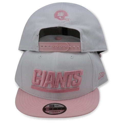 NEW YORK GIANTS NEW ERA 9FIFTY SNAPBACK (BREAST CANCER)