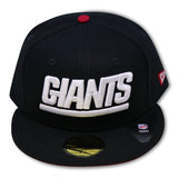 NEW YORK GIANTS 59FIFTY NEW ERA FITTED (AIR JORDAN 11 BRED'S)