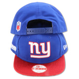 NEW YORK GIANTS SIDELINE (RED BRIM) NEW ERA  9FIFTY SNAPBACK
