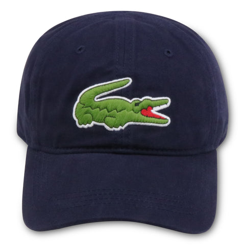 LACOSTE NAVY SPORTS DAD HAT